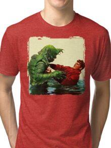 The Creature's Battle Royal Tri-blend T-Shirt
