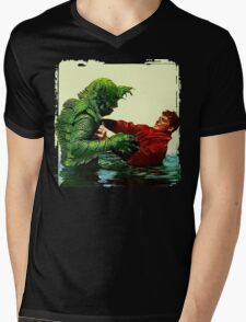 The Creature's Battle Royal Mens V-Neck T-Shirt