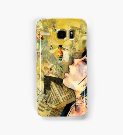 the bees Samsung Galaxy Case/Skin