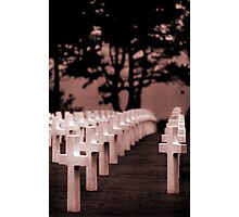 Normandy- American Cemetery Photographic Print