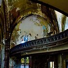 Abandoned Church in Detroit, Woodward Avenue Presbyterian Church by Karen Stevens