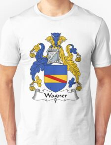Wagner Coat of Arms / Wagner Family Crest T-Shirt
