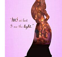 Tangled ~ And At Last I See The Light by EvaEnchanted