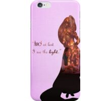 Tangled ~ And At Last I See The Light iPhone Case/Skin