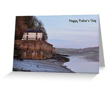 Boathouse Father's Day Card Greeting Card