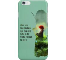Brave ~ Our Fate Lies Within Us iPhone Case/Skin