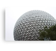 epcot - i - spaceship earth Canvas Print