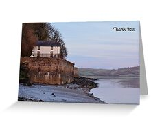 Boathouse Thank You Card Greeting Card