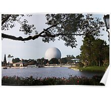epcot - vi - across the pond Poster