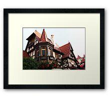 epcot - vii - france pavilion Framed Print