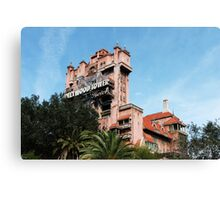hollywood studios - i - hollywood tower hotel Canvas Print