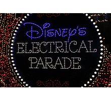 magic kingdom - iv - electrical parade Photographic Print