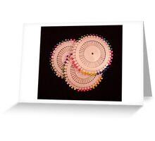 Pins Greeting Card