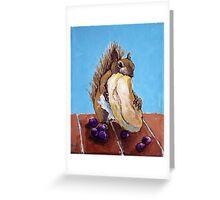 Bagel Eater Greeting Card