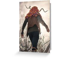 The Shadows Lengthen Greeting Card