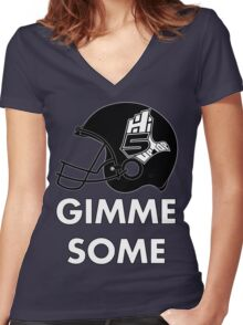 Hi-5 Up Top Gimme Some Women's Fitted V-Neck T-Shirt