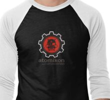 ATOMIKON Hot Rods & Motorcycles Men's Baseball ¾ T-Shirt