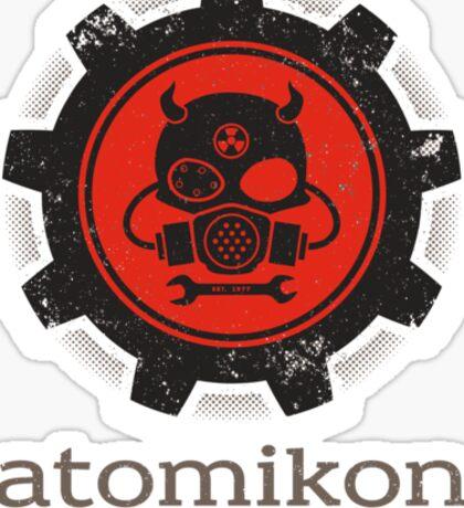 ATOMIKON Hot Rods & Motorcycles Sticker