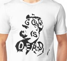 "Friedrich Nietzsche - ""God is Dead"" Unisex T-Shirt"