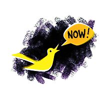 Climate Canary in the Coal Mine Photographic Print