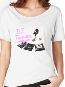DJ Tanner  Women's Relaxed Fit T-Shirt