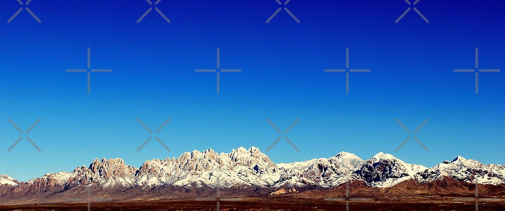 Organ Mountains by Nalehua  Wise-Hurst