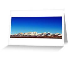 Organ Mountains Greeting Card