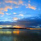 Central Coast Sunrise Panorama by George Petrovsky