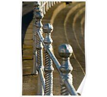 promenade railings Poster