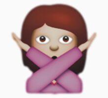 No X emoji by Chloe Hebert