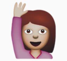 Hand Raise Emoji by Chloe Hebert