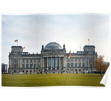 reichstag facade Poster