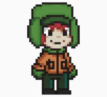 Kyle Broflovski Pixel by geekmythology