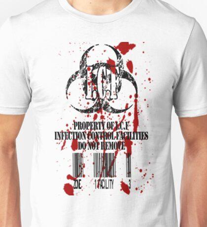 I.C.F - INFECTION CONTROL FACILITY Unisex T-Shirt