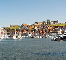 river esk whitby by photoeverywhere