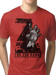 The ZED - RANGE official TEE Tri-blend T-Shirt