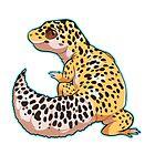 Leopard Gecko by cargorabbit