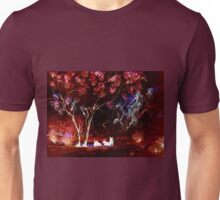 Ghost Cows (Afternoon Shade Watercolour Colour Negative) Unisex T-Shirt