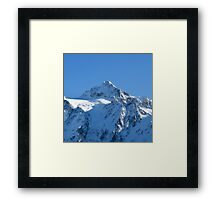 All is White Framed Print