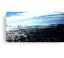 Welcome to Earth Canvas Print