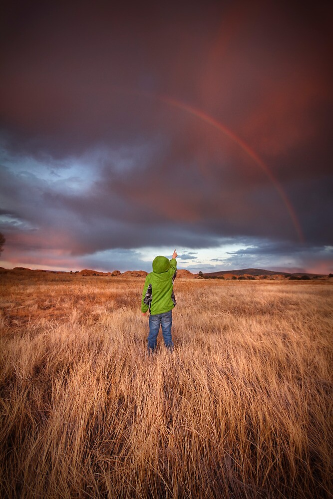Rainbow Child by Bob Larson