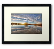 Between Clouds Framed Print