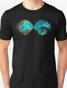 Green Galaxy Mermaid (V-Neck) Unisex T-Shirt
