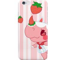 merengue the rhino iPhone Case/Skin