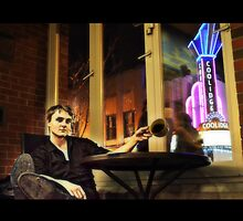 Songwriter in Thought @ The Coffee Shop ( Remi Weston ) by J. Lovewell