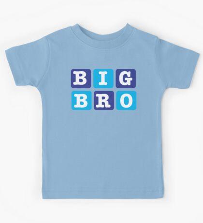 Big Bro Blocks Kids Tee