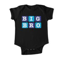 Big Bro Blocks One Piece - Short Sleeve