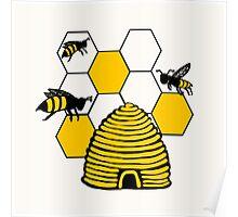 Bee-Shirt Poster