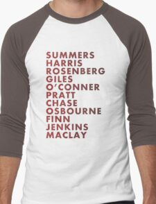 Buffy The Vampire Slayer All Business Surnames Men's Baseball ¾ T-Shirt