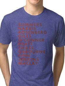 Buffy The Vampire Slayer All Business Surnames Tri-blend T-Shirt
